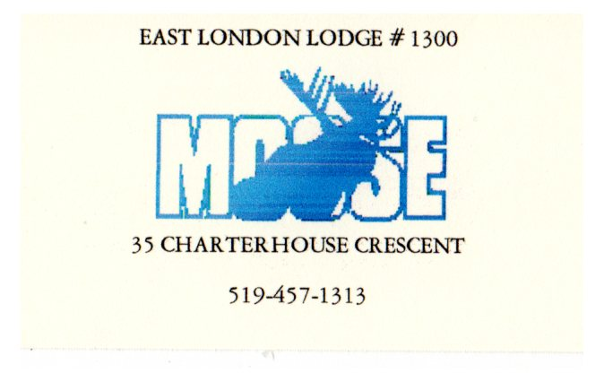 East London Moose Lodge