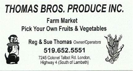Thomas Brothers Market Inc.
