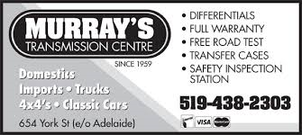 Murray's Transmission Centre