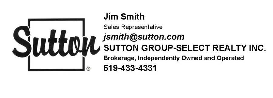 Jim Smith @ Sutton Group Select Realty